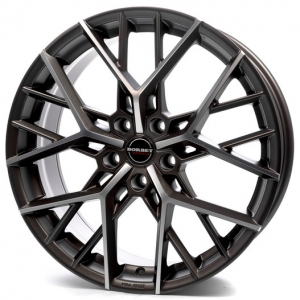 20x9.0 5x112 ET45 CB72,5 Borbet BY titan polished matt