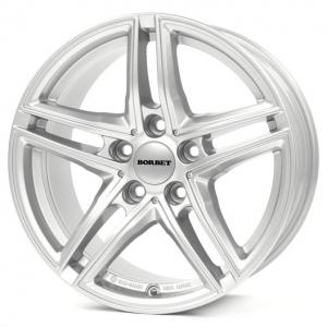 17x7,5 5x120 ET35 CB72,6 Borbet XR Brilliant Silver
