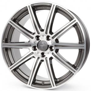 19x8.5 5x112 ET45 CB66,6 Keskin KT16 palladium front polish