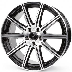 19x9.5 5x112 ET45 CB66,6 Keskin KT16 black front polish