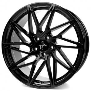 20x8.5 5x112 ET45 CB72,6 Keskin KT20 black painted