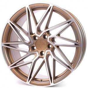 19x8.5 5x112 ET45 CB72,6 Keskin KT20 bronze front polish