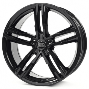 18x8.0 5x112 ET42 CB66,5 MAM A1 black painted