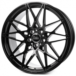 18x8.0 5x112 ET45 CB72,6 MAM B2 black painted