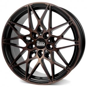18x8.0 5x112 ET45 CB72,6 MAM B2 matt black bronze