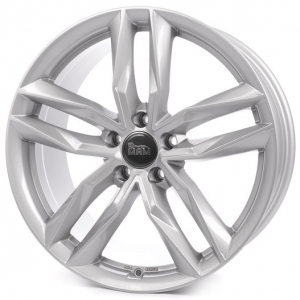 18x8.0 5x112 ET45 CB66,6 MAM RS3 silver painted