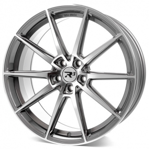 19x8.5 5x112 ET35 CB72,6 R³ Wheels R3H03 anthracite-polished