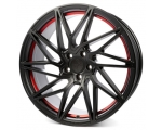 19x8.5 5x120 ET35 CB72,6 Keskin KT20 matt black red inside