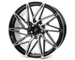 19x8.5 5x120 ET35 CB72,6 Keskin KT20 black front polish