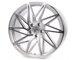18x8.0 5x112 ET30 CB72,6 Keskin KT20 silver front polish
