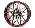 18x8.0 5x120 ET35 CB72,6 MAM B2 bronze red inside