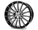 19x8.5 5x120 ET35 CB72,6 MAM RS4 black painted